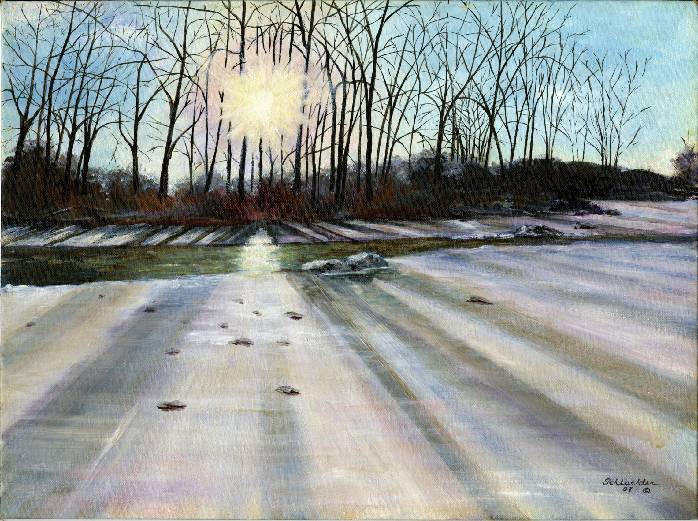 Winter Morning Giclée